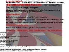 Lernen und verstehen: Grundlagen Mechatronik  LEXIKON-Begriffe Mechatronik in deutsch und Technisches Woerterbuch