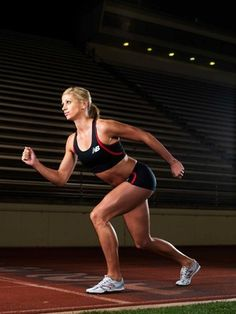 Real inspiration: Athletes not models —Maggie Vessey: Track and Field