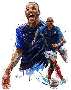 Hommage Coupe du monde 2018  De superbes illustrations pour la victoire  des bleus e4c3036c5
