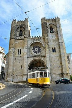 Lisbon Cathedral, Portugal.