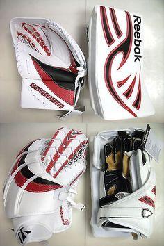 Gloves and Blockers 79763: Mismatch Special New Ice Hockey Goalie Senior Blocker Catcher Gloves Set Reg -> BUY IT NOW ONLY: $299.99 on eBay!