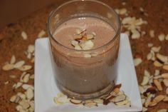 If you LIKE CHOCOLATE & NUTS, you are going to love this #healthy #proteinsmoothie.  Its rich, smooth, chocolatey, nutty and simply DECADENT.  YOU MUST TRY THIS ONE.