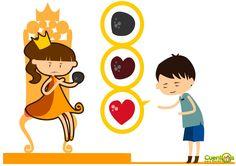 """La princesa de fuego. Cuento infantil ilustrado  """"La princesa de fuego"""" es un cuento infantil con ilustraciones sobre las cosas más importantes."""