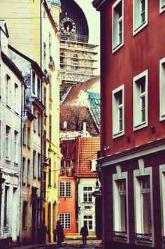 Old city - Riga, Latvia