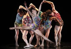 Members of the Trey McIntyre Project perform Nov. 23, 2012, at the Segestrom Center for the Arts in Costa Mesa. REVIEW: Trey McIntyre Project dances are both slight and potent  | Trey McIntyre...