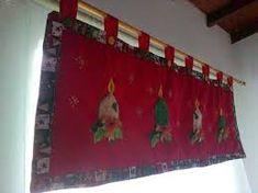 Resultado de imagen para cortinas navideñas con luces Valance Curtains, Holiday Decor, Home Decor, Lights, Border Tiles, Xmas, Dressmaking, Decoration Home, Room Decor