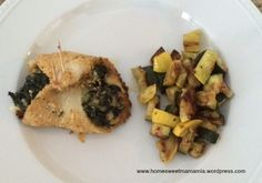 Fish and Spinach Rollatini