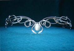 my choice of circlet instead of tiara... beautiful