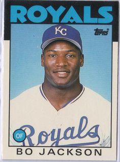 Bo Jackson {I had this baseball card!}