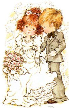 Immagini Sara Kay e Holly Hobbie Sarah Key, Sara Key Imagenes, Mary May, Decoupage, Holly Hobbie, Happy Marriage, Australian Artists, Illustrations, Cute Illustration