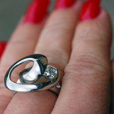 Coal Ring Sigrid - rostfritt stål
