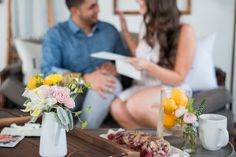 Captured and Engaged Home Shoot | Home Decor | Coffee Table Style | Interior Design | Photography | Fresh Florals | Wooden Tray | Love Notes