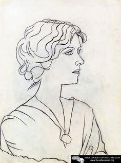 Portrait of Olga  Pablo Picasso