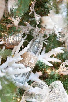 coastal chic Christmas | Seahorse & Stripes: COASTAL CHIC DESIGNER CHRISTMAS TREE 2012