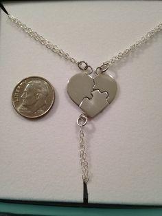 Sterling Silver Best Friends Puzzle MINI by CopperfoxGemsJewelry