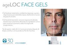 Los geles faciales están diseñados para revitalizar tu piel junto con tu Galvanic Face Spa #YoUsoNuSkin