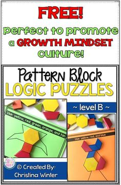 FREE interactive logic puzzles that will have kids begging for more! Easy to use, these brain teasers are a great math center that will keep kids engaged while thinking logically. These puzzles are perfect to help your 1st and 2nd grade students learn to persevere through challenging tasks. #logicpuzzles #brainteasers #growthmindset