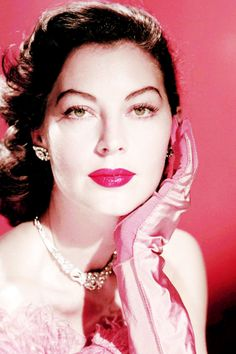 """vintagegal: """" """"I've always admired her as an actress and felt she was underrated because people were deceived by her beauty and did not expect more from her."""" -Gregory Peck (Ava: My Story) """""""