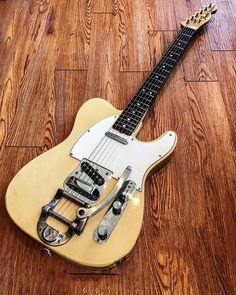 1972 Fender Telecaster with whammy bar