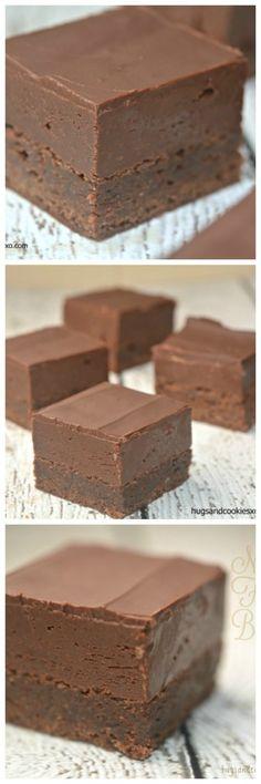 Nutella Fudge Brownies - Hugs and Cookies XOXO