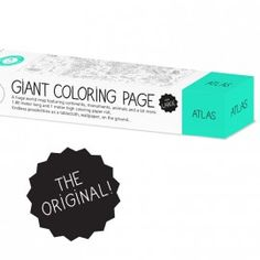 'paris' giant colouring roll by omy – The Mini Life