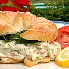 Blue Crab Croissant