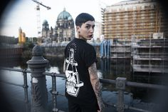 ELEVENCULT - LIFE LOVE DEATH 2016 WINTER COLLECTION - THE HANGMAN-  Location Shoot Berlin Germany - Classic Tattoo / Tatted Model / Traditional Tattoos / Apparel / Urban Street Photography - 11.11.11. Threeeleven Cult Clothing