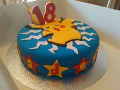 Pokémon choc mud cake 18th