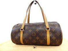 Louis Vuitton Vintage Monogram Papillon Brown Bag - Satchel $198