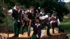 Cary Elwes and Dave Chappelle in Robin Hood Men In Tights