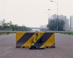 Liu Bolin...The Invisible Man