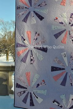 Dresden Sparkles Quilt by thegirlwhoquilts, via Flickr