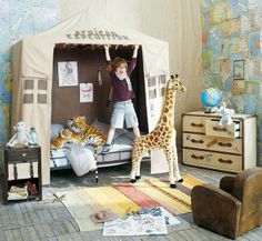 ... Safari Girl or Boys Room on Pinterest  Safari, Kids lamps and Jungle