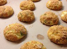 Jalapeno Cream Cheese Puffs/Cream Cheese Cookie Bites - Mrs. Criddles Kitchen  + Trish Yearwoods Jalapeno Cream Puffs.