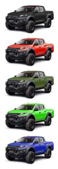 Mitsubishi Strada, Mitsubishi Pickup, Mitsubishi Pajero, Truck Flatbeds, Suv Trucks, Fire Trucks, Pickup Trucks, Custom Trucks, Custom Cars