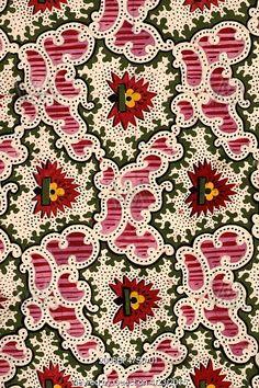 Textile design. France, 19th century