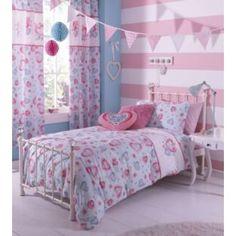 Buy Catherine Lansfield Sweethearts Duvet Cover Set - Single at Argos.co.uk - Your Online Shop for Children's bedding sets #ArgosRoomInspiration