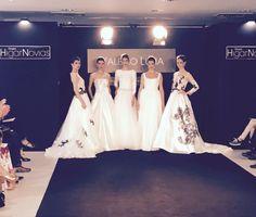 Presentación de las nuevas colecciones de novia  y fiesta de #ValerioLuna y #ManuGarcia #Colecciones2018 #Desfile #Vestidosdenovia #Vestidosdefiesta