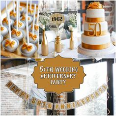 Looking For Some Simple But Beautiful Ideas That Upcoming 50th Wedding Anniversary Party We