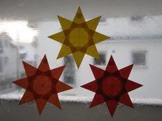 Kleiner Stern aus Transparentpapier