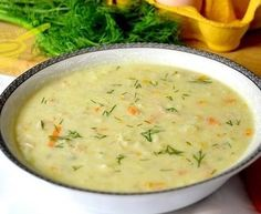 zupa drobiowa z ryżem