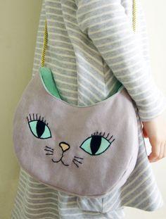 DIY Purrfect Cat Bag Tutorial and Template