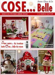Cose... Belle n°105 Dicembre 2014 [cosebelle_1214] - Cose Belle by Maryline, riviste di ricamo e materiali per la tua creatività