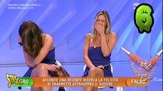 """Eleonora Cortini e Francesca Fichera, le """"professoresse"""" del programma """"L' eredità"""" su Rai 1. 2105 #professoresse #eredità #rai1 #bellini"""