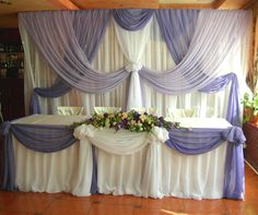 Fabric drapes #backdrop