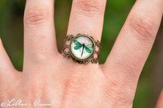 Ringe - ✼ Königslibelle ✼ Ring - ein Designerstück von LiAnn-Versand bei DaWanda