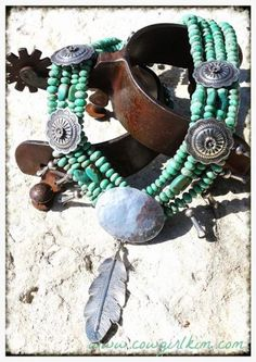 "Jewelry :: LONE EAGLE STUDIOS "" CAMISA "" TURQUOISE NECKLACE AND EARRINGS! - Native American Jewelry