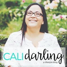 This week for Sponsor Spotlight Cali Darling blog. Get to know the blogger behind the blog. Hi! I'm Christina and I'm a twenty something