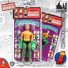 Mego Retro Style Kresge Aquaman Action Figure. #mego #repro #aquaman #actionfigure