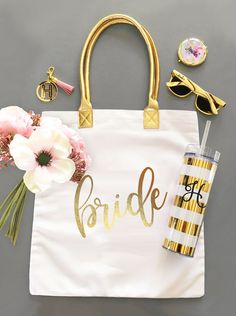 Bride Gift Ideas | Bridal Shower Gift for Bride to Be | Bride Tote Bag